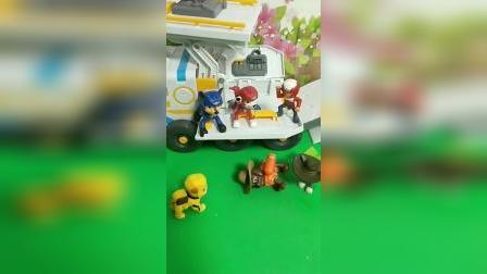 儿童玩具:汪汪队的生日