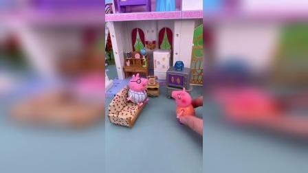 小猪佩奇一家玩具小故事