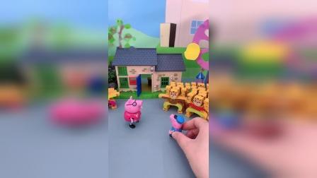 精彩玩具小故事-佩奇的大力士玩具