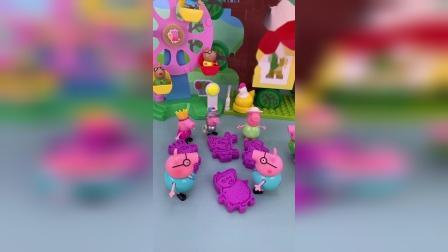 小猪佩奇玩具小故事-三个猪爸爸