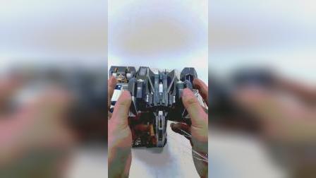 盖亚奥特曼合金dx飞机开箱测评