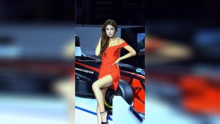 【2019汽车沙龙1005】美女模特车模刘多妍