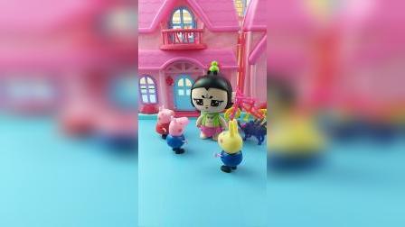 少儿亲子玩具:葫芦娃旅行带礼物给佩奇