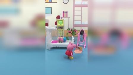 少儿亲子玩具:乔治发朋友圈假装锻炼