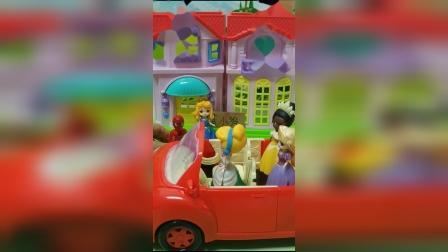 儿童玩具:公主们要出去玩了