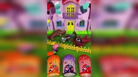 趣味童年:怪兽和僵尸同处一室