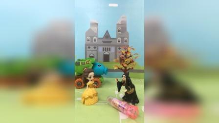 少儿亲子玩具:巫婆给了贝儿一个坏糖果