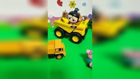 儿童玩具:怪兽来了,小朋友快上车