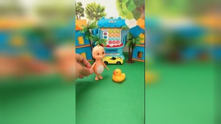 趣味童年:小鸭子找不到妈妈了,大家帮帮它