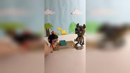 僵尸来找葫芦娃爷爷做什么?
