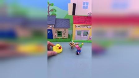精彩玩具小故事-乔治和一群鸭子