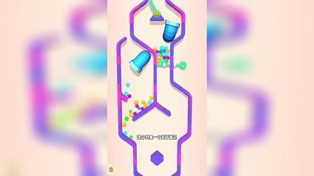 小游戏:糖果下降的过程中有了传送管道