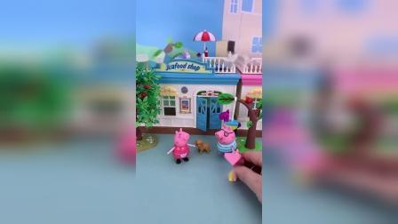 小猪佩奇玩具小故事-一家人在一起真开心
