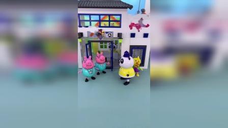 精彩玩具小故事-猪爸爸的熊猫