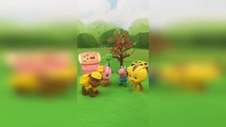 少儿玩具:乔治和伙伴们玩游戏
