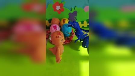 趣味童年:灰太狼把小鸡都关起来了