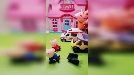 趣味童年:为什么只有乔治是小推车