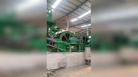 石粉洗沙机全套生产线清洗石粉现场