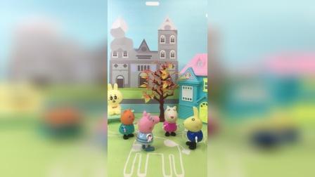 少儿亲子玩具:佩奇上学迟到了