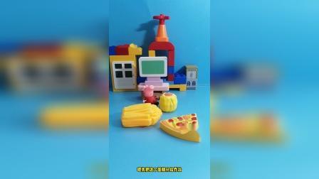 儿童益智玩具:这里有好多好吃的呢