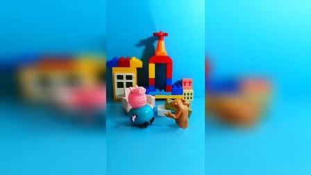 儿童益智玩具:猪爸爸,请问你在家吗