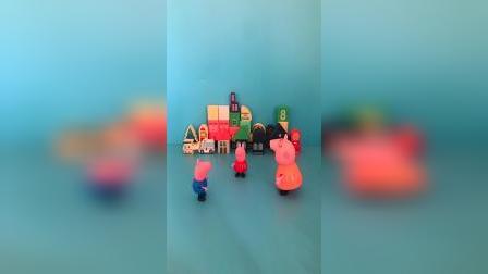 儿童益智玩具:猪妈妈,我们今天要去苏茜家做客