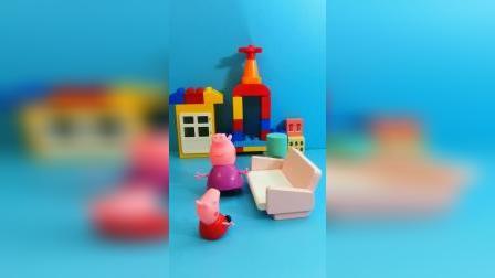 儿童益智玩具:猪奶奶,你在干什么呀