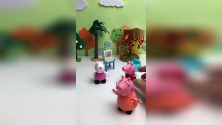 猪妈妈请苏西喝茶