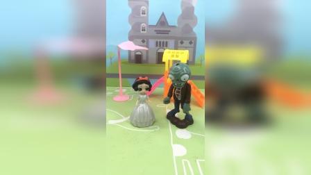 少儿亲子玩具:白雪和王子玩捉迷藏呢