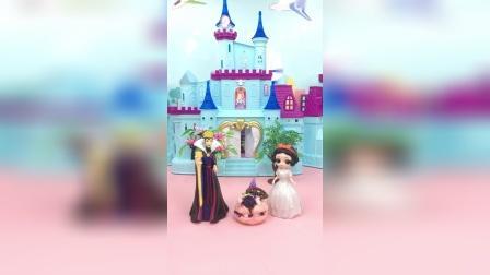 亲子玩具:王后让白雪找西瓜