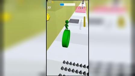 小游戏:小绿人速度变快了
