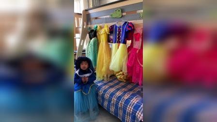小蓝公主今天可真美