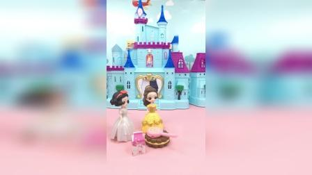 亲子玩具:贝尔不给白雪吃零食