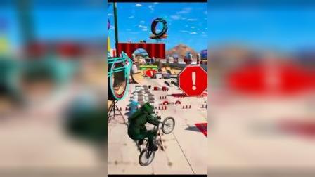 小游戏:骑单车都可以那么帅气