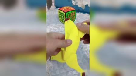 香蕉魔方是223的异形魔方,真好玩