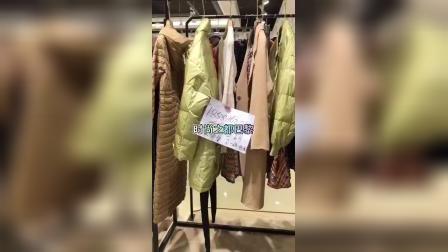 高端知名品牌女装 蒂言21秋冬 品牌撒柜女装尾货批发