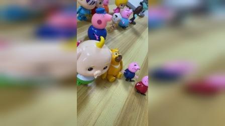 小猪佩奇小课堂:超人老师教唱歌,小朋友们学会了吗?