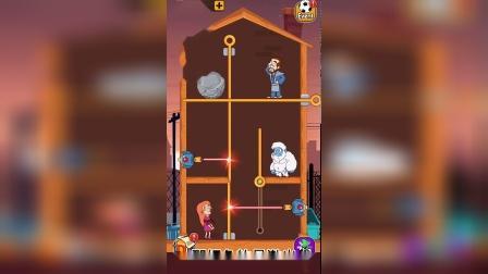 益智小游戏:小果遇到会高科技的雪人