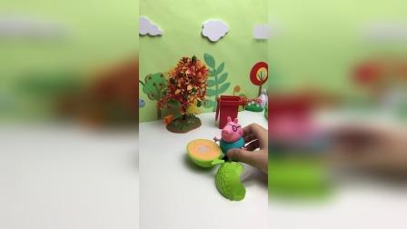 猪爸爸喜欢吃哈密瓜?