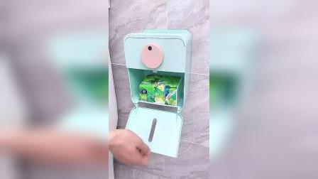 美观又实用的纸巾盒,免打孔还防水防潮