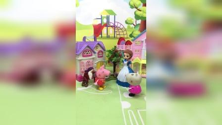 少儿亲子玩具:老师和佩奇苏西对对子
