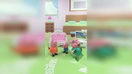 少儿玩具:乔治要和妈妈睡
