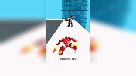 小游戏:男孩变身成为机器人