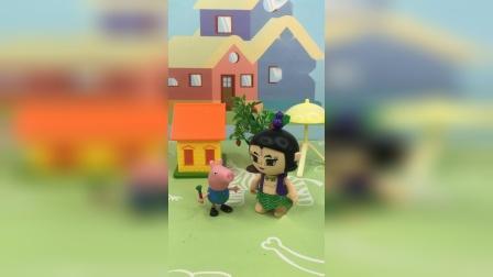 少儿玩具:乔治和葫芦娃结盟了