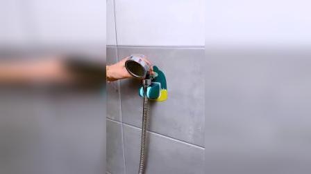 家里有浴室的,一定要备上这样一个花洒支架