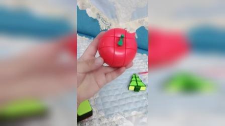 苹果魔方是一个三阶异形魔方