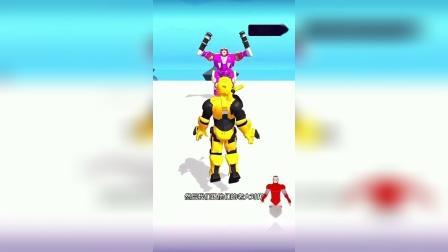 趣味小游戏:超级机器人发射能量