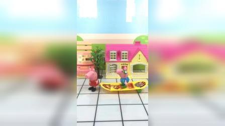 少儿玩具:乔治还不是得求助佩奇