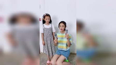 为什么姐姐有两个雪糕?