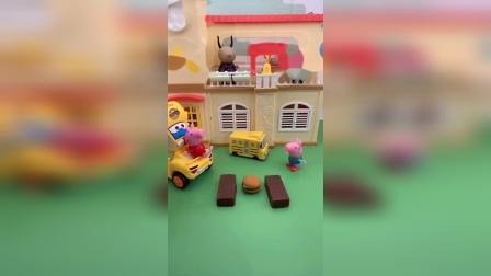 益智玩具:熊二捡到了乔治的饼干